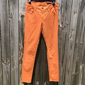 Orange Black Orchid Skinny Jeans
